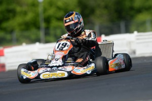 Billy Cleavelin drove to two podium results in the TaG Master category aboard his CRG chassis (Photo: On Track Promotions - otp.ca)