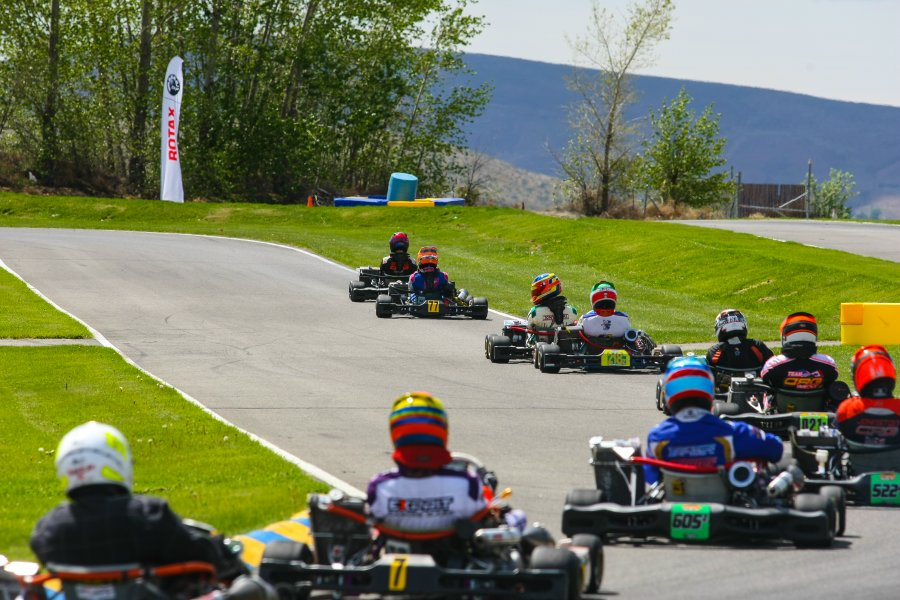 Rotax Can-Am ProKart Challenge shift back into to action at the McMinnville Kart Track on May 30-June 1 (Photo: SeanBuur.com)