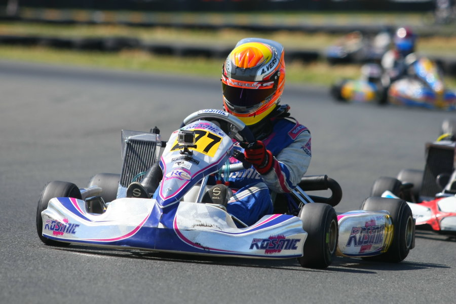 Versteeg won the Rotax Challenge of the Americas finale to clinch the title, and spot on Team USA (Photo: SeanBuur.com)