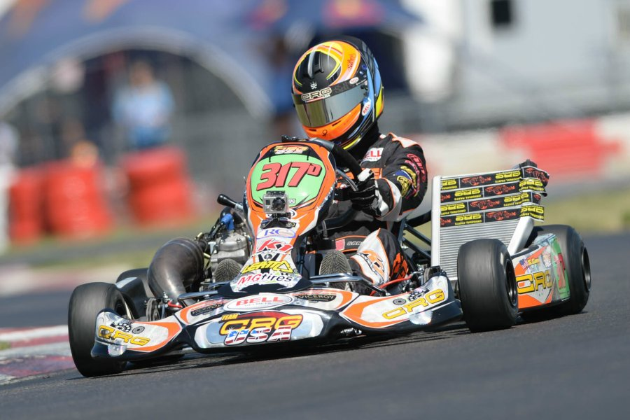 Dallas Karting Complex >> Sabré Cook Shows Speed at Superkarts! USA SpringNationals ...