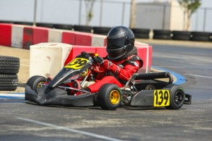 Tyler Cole picked up his first win in the Mini Max division (Photo: SeanBuur.com)