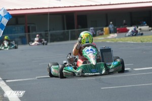 TaG Junior was won again by Christian Brooks as he outlasted the competitive field (Photo: On Track Promotions - otp.ca)