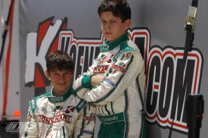 Michael and Nicholas d'Orlando (Photo: On Track Promotions - otp.ca)