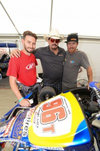 Kyle Martin, Greg Bell and Trevor McAlister (Photo: On Track Promotions - otp.ca)