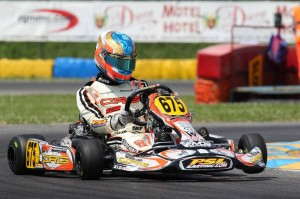 Canada's Alessandro Bizzotto made his European debut during his first event outside of North America (Photo by: Fernando Morandi/CRG)