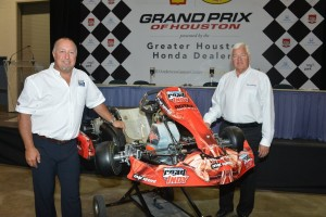 MAXSpeed's Richard Boisclair and Andersen Promotions Dan Andersen