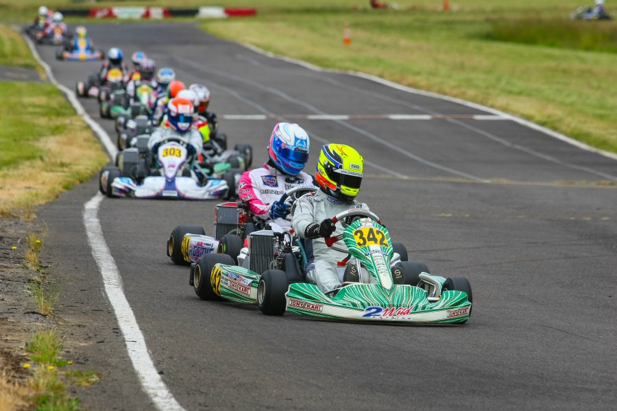 The Rotax Can-Am ProKart Challenge gets underway again next weekend at the Pat's Acres Racing Complex (Photo: SeanBuur.com)