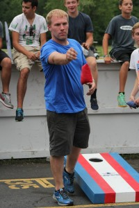 Gary Lawson, one half of the two-time Cornhole championship team