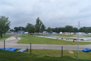 Michiana Raceway Park hosting the United States Pro Kart Series