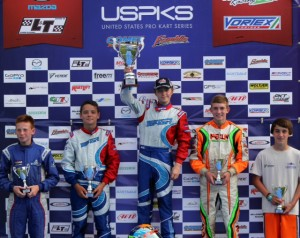 Top Kart drivers found the podium on several occasions in USPKS and WKA competition (Photo: eKartingNew.com)