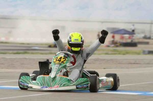 Jake Craig wins Rotax Senior for 2Wild Karting (Photo: Ken Johnson - Studio52.us)