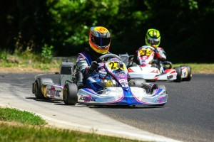 Austin Versteeg doubled up in Junior Max to extend his point lead (Photo: SeanBuur.com)