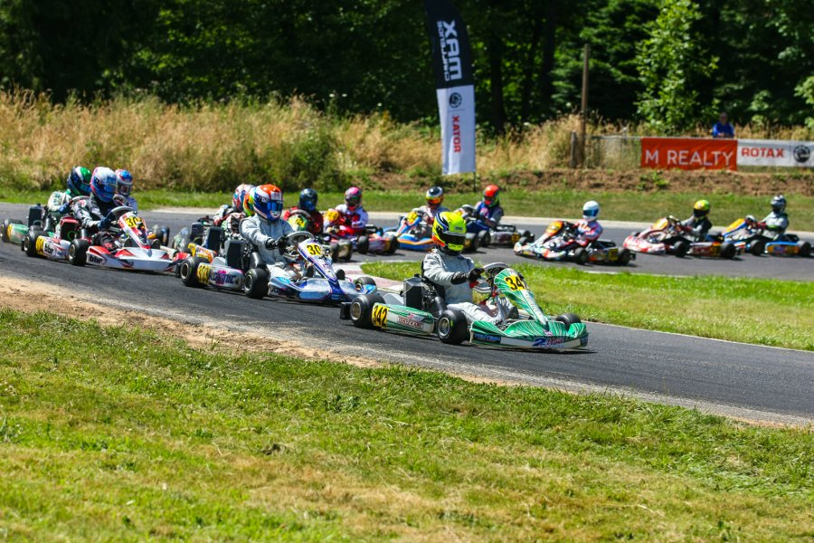 Strong fields once again battled at the Rotax Can-Am ProKart Challenge event at the Pat's Acres Racing Complex (Photo: SeanBuur.com)
