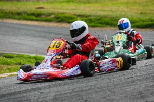 Close racing once again in LO206 Junior, with Jacob Gulick winning both feature races (Photo: SeanBuur.com)