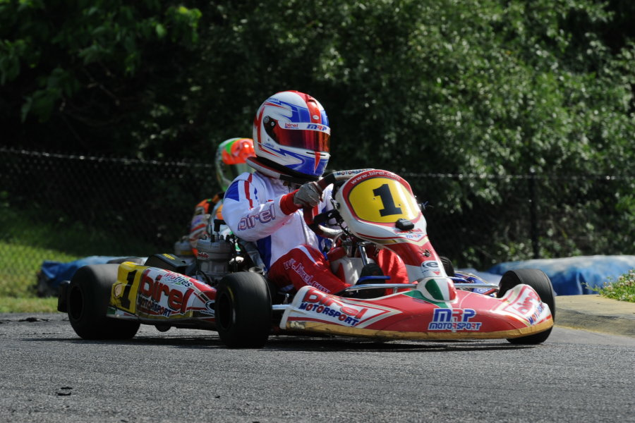 McAndrews drove to two victories at the USPKS South Bend event (Photo: DavidLeePhoto.com)