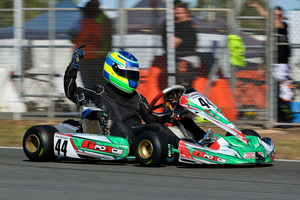 Local Whitsunday driver Jordan McGregor won Junior Rotax  (Photo: Bill Bryant)