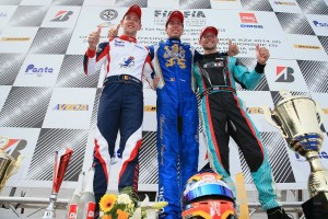 KZ_Podium CIK-FIA European Championship Wackersdorf