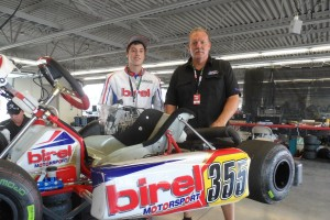 Lane Vacala and Jim Mastandrea from Michiana Raceway Park