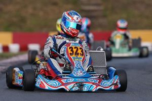 Simas Juodvirsis leads the points in KZ2 (Photo: CT Photos)