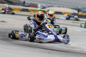 Austin Versteeg outlasted a wild Junior Max race to win on Sunday (Photo: Studio52.us)
