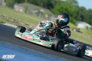 Myles Farhan is looking to defend his TaG Cadet point lead in his home state (Photo: On Track Promotions - otp.ca)