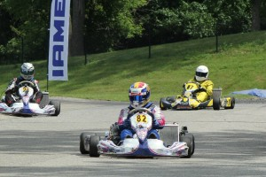 Laurentiu Mardan leads the Parilla Challenge standings after two wins at South Bend (Photo: EKN)