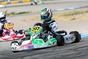 Anthony Gangi Jr. was the driver to beat in the Rotax Junior class all week at the 2014 Cold Stone US Grand Nationals (Photo: Ken Johnson / Studio52.us)