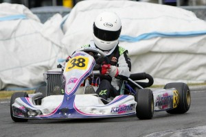 Caleb Huston in Arai Helmets Rotax Junior Max (Photo: Fast Company/Graham Hughes)