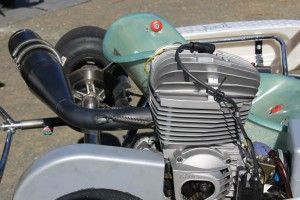 The IAME 100cc Reedjet engine
