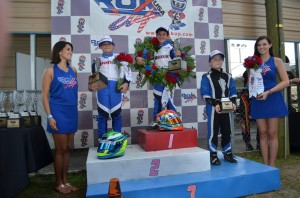 Mini Rok Podium (Photo: RokCupUSA.com)