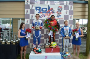 Junior Rok Podium (Photo: RokCupUSA.com)