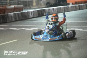 TaG Junior was won by Top Kart USA's David Malukas (Photo: On Track Promotions - otp.ca)
