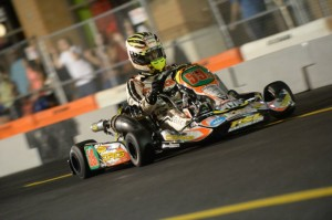 Jordon Lennox used the red flag restart to take the lead and never look back (Photo: On Track Promotions - otp.ca)