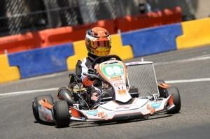 In his Sodi Kart debut, Trenton Estep won his third straight in S5 Junior (Photo: On Track Promotions - otp.ca)
