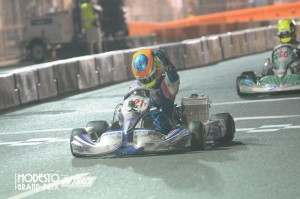 Senior rookie Blaine Rocha took the TaG Senior victory in front of a hometown crowd (Photo: On Track Promotions - otp.ca)