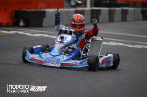 Two wins for David Malukas puts him in the TaG Junior championship hunt (Photo: On Track Promotions - otp.ca)