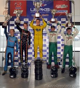 Leopard Pro championship podium (Photo: DavidLeePhoto.com)