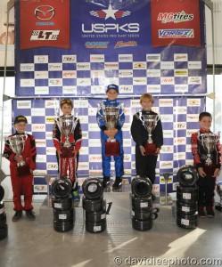 Yamaha Rookie championship podium (Photo: DavidLeePhoto.com)