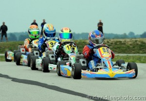 Neil Verhagen scored his second straight win in Mini Rok Cadet (Photo: DavidLeePhoto.com)