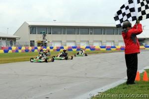 Austin Schaff led a Merlin 1-2-3 finish in Yamaha Cadet (Photo: DavidLeePhoto.com)
