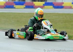 Brandon Lemke held on for the win in Yamaha Junior (Photo: DavidLeePhoto.com)