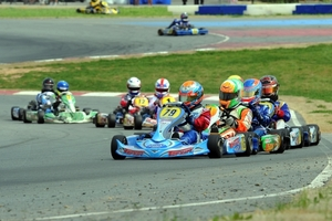 Malukas leads the Yamaha Junior field at the USPKS 2014 opener at GoPro Motorplex (Photo: David Lee Motorsports)