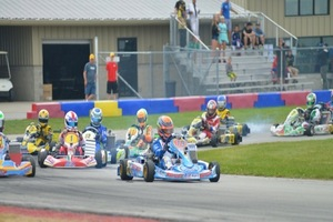 Top Karts lead the way at the USPKS event at NCMP  (Photo: David Lee Photos)
