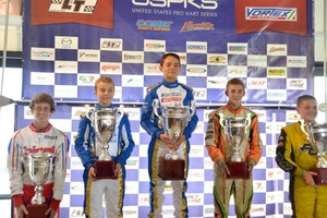 Top Kart drivers seem to be on the podium week in and week out across North America   (Photo: David Lee Photos)