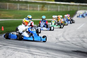 Jimmy Simpson and Brandon Newey kept the Top Kart chassis near the front of the field over the 200 mile event  (Photo: David Lee Photography)