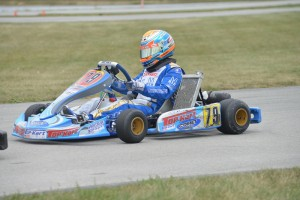 David Malukas and Zach Holden drove the Top Kart Junior team to a fifth place finish  (Photo: David Lee Photography)