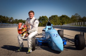 Parker Chase tests Formula 1600 with Chastain Motorsports (Photo: Chase Racing)