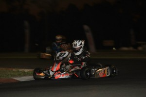 Harrison Hoey was victorious in the Sodi Junior Rotax Trophy class (Pic: Coopers Photography)