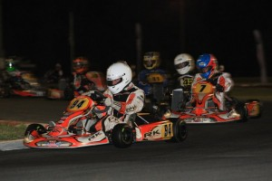 Brad Jenner leading the way in Rotax Light  (Pic: Coopers Photography)