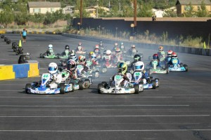 Over 120 racers took part in the first ever California ProKart Challenge event on a temporary circuit in Lake Elsinore, California (Photo: dromophotos.com)